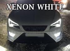 SEAT LEON MK3 2012+  BRIGHT XENON 6000K WHITE SMD LED Fog Light Bulbs