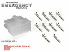 10 Pin Connector Plug for Federal Signal PA300R Smart Siren Platinum Ver 2 3000