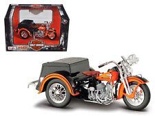 1947 Harley Davidson Servi-Car HD Custom Motorcycle Model 1:18 Diecast - 03179 *
