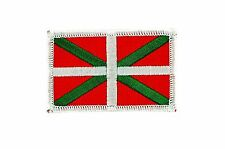 Euskadi vasco basque flag patch patches backpack badge iron on embroidered