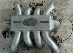 94-96 Infiniti Q45 Upper Intake Manifold Complete As Pictured - Ready to Install