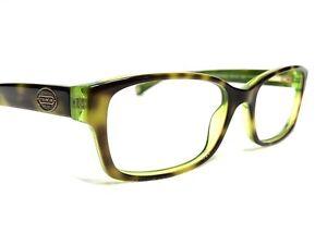 Coach HC 6040 Brooklyn 5117 Women's Tortoise & Green Rx Eyeglasses Frames 52/16