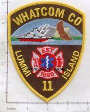 Washington - Lumimi Island Whatcom County WA Fire Dept Patch
