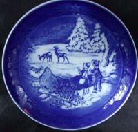 "ROYAL COPENHAGEN 2002 Christmas Plate ""WINTER IN THE FOREST"" COA, BOX, MINT"