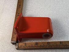 One Vintage Orange 1970s Ledu Swing Arm Lamp Base Side Screw On Type