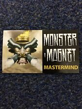 Monster Magnet Mastermind Rare Promo Sticker Record Store Promo Item Rock Metal
