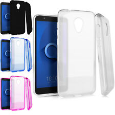 For Alcatel Ideal Xtra TPU CANDY Hard Flexi Case Phone Cover Accessory