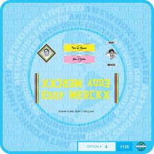 Eddy Merckx Molteni  Bicycle Decals Transfers - Stickers - Set 4