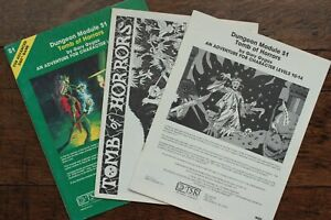 Tomb of Horrors AD&D 1st Edition Top10 Module Dungeon Dragon TSR 9022 S1 1981