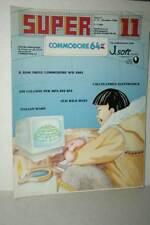 RIVISTA SUPER COMMODORE 64 ANNO 2 NUMERO 11 DICEMBRE 1985 USATA ED ITA FR1 54755