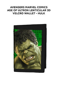 Avengers Marvel Comics Age of Ultron Lenticular 3D Wallet - Hulk
