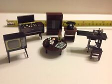 Dollhouse Miniature Japanese Living Room Furniture 1:24 Accessories Featuring 2