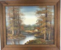 Vintage Marklein Oil Painting Art