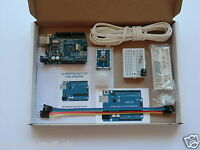 Arduino Uno R3 clone + Door & PIR Alarm Sensors. With PDF guide and software.