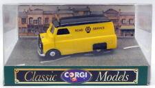 Véhicules miniatures jaunes Corgi Bedford
