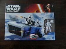 """Star Wars HASBRO  SNOWSPEEDER & 3.75"""" First Order SNOWSPEEDER  Action Figure"""