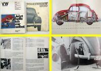 Werkstatthandbuch VW Käfer 1200 Jetzt helfe ich mir selbst + Bedienungsanleitung