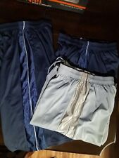 New lot of 3 Mens Draw String Gym Shorts longer length size M