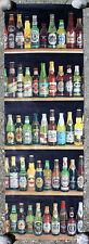 """Affiche (Poster) """" Bouteilles de bière """" ( Brasseries )"""