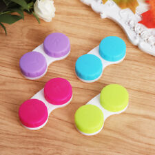 4pcs Mini Contact Lenses Box Lens Case Care Travel Kit Holder Container