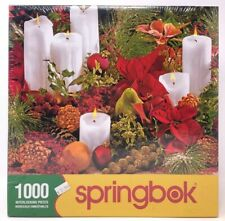 SPRINGBOK JIGSAW PUZZLE 1000 PIECES CHRISTMAS COLORS TREE HOLIDAYS - NEW SEALED