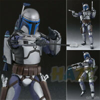Star Wars Jango Fett Bounty Hunter Action Figure Movable Toy 15cm Collection