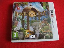 jeux nintendo 2ds/3ds jewel quest mysteries the seventh gate tres bon etat