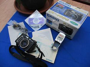 Digitalkamera Casio QV-4000 4.1 Mega Pixel Canon Lens AF zoom optical 3x 70-210