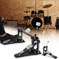 More details for dual/ single drum pedal bass foot kick percussion drum set percussion pedal uk