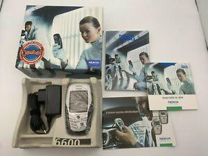 Nokia 6600 Neuwertig in OVP neuer Akku ohne Simlock