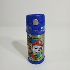 Paw Patrol Thermos FUNtainer Stainless Steel Insulated 12oz Bottle cup straw