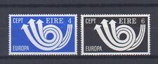 IRELAND, EUROPA CEPT 1973, POST HORN THEME, MNH