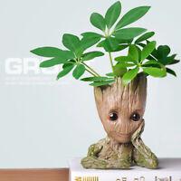 14CM Groot Guardians of The Galaxy Baby Figure Flowerpot Style Pen Pot Kids Toy