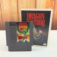 Dragon Warrior Nintendo NES In Plastic Box Case VTG Fast Free Shipping