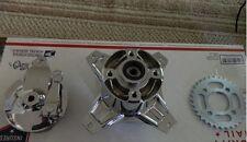 Honda ct70 hko ko rear chromed hub w/ sprocket and brakes and bearings69-93mini