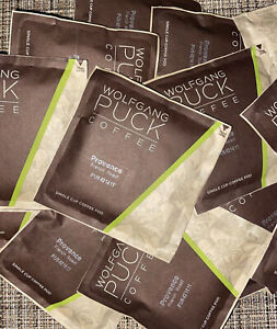 Wolfgang Puck Coffee  French Roast Single Cup Pods 18 pc Lot - No Box BB 10/22