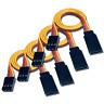 4 Servokabel Verlängerungskabel 30cm Servo Kabel Verlängerung JR Graupner 22AWG