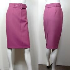 Neues AngebotM&S Midi BELTED PENCIL SKIRT ~ Size 18 ~ PINK (rrp £35)