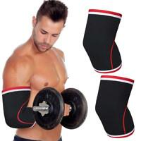 Compression Elbow Sleeve Brace Support Training Gym Bandage Arm Pads Guard Wrap