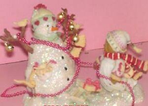 CHERISHED TEDDIES  MAIDA - Snowbears -Christmas 2011
