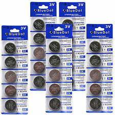 New 25 Pcs CR2450 CR 2450 DL2450 3V Lithium Cell Coin Battery SHIPS FROM USA