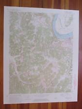 Cloverport Kentucky 1972 Original Vintage USGS Topo Map