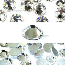 "144 Swarovski 2058 10ss crystal flatback rhinestone 2.8mm ss10 ""pick your color"""