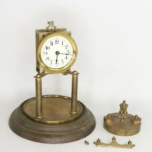 400 Day Torsion / Anniversary Clock for Parts or Repair - Antique - KK1432