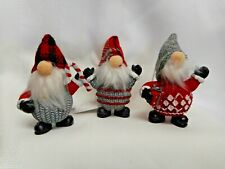 NEW for 2020!  Charming Trio of Gnomes from Ganz