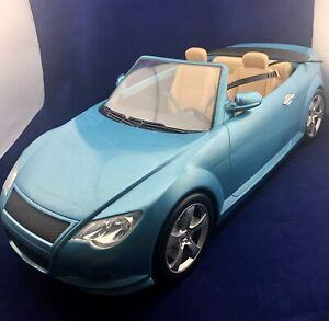 Barbie Mattel My Scene Birthday Club 2004 Blue Convertible Car 2 Door - NO KEY