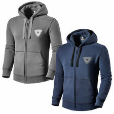Cotton Hooded Patternless Zip Cardigans for Men