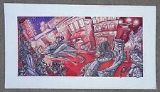 superb original comic book illustration art LIANI  signed Corey Smith 1995