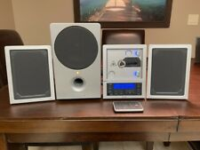 New listing Brookstone Wafer Thin Cd Stereo System with Mp3