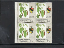 MALAYSIA-NEGRI #102  1986  10c AGRICULTURE & STATE ARMS  MINT  VF NH  O.G  BP4